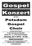 Benefizkonzert am 29.11.2015
